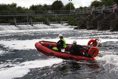 safety boat hire services .